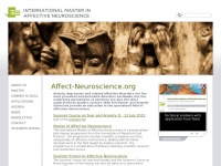 Affect-neuroscience.org - International master in affective neuroscience