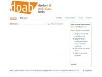 Doabooks.org - DOAB: Directory of Open Access Books