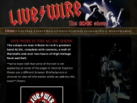 Livewiredc.co.uk - Live/Wire - The AC/DC Show | Home Page