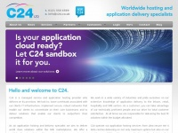 C24.co.uk - C24   Worldwide hosting and  application delivery specialists