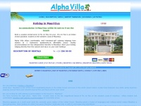 Alphavilla.co.uk - Mauritius Accommodation, Holiday Studio Apartments, self catering lodges, Rental Hotels in Mauritius