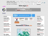 Whitepages.lv - Directory Latvia